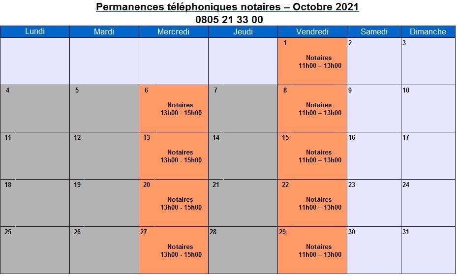 CDAD Gironde - La plateforme téléphonique des notaires de la Gironde se poursuit en octobre !