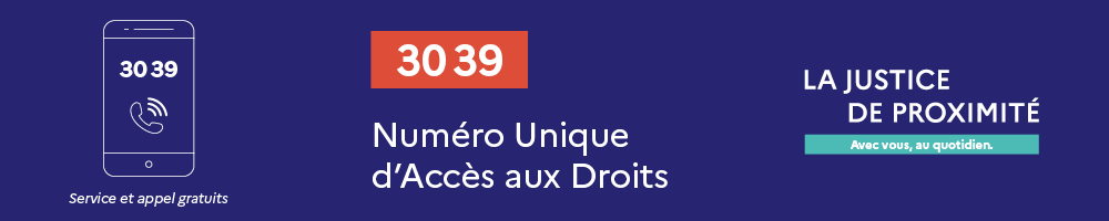 CDAD Gironde - La justice de proximité: 3039, justice.fr et les points-justice !